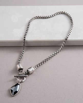 Crystal Edge Necklace