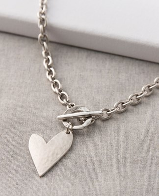 True Love T-Bar Necklace