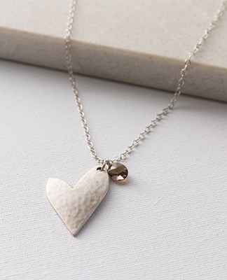 True Love & Crystal Necklace