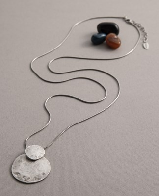 "Long ""Granite"" Necklace"
