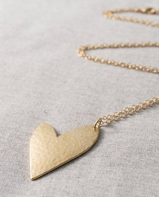 """True Love"" Long Necklace"