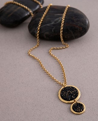 "Long ""bubbles"" Necklace"